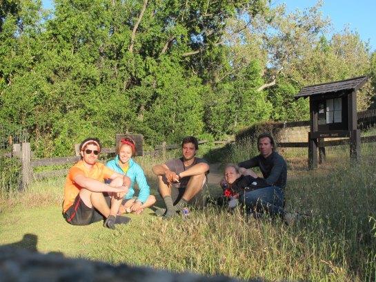 Group post hike