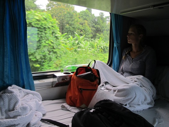 Train travel in Thailand