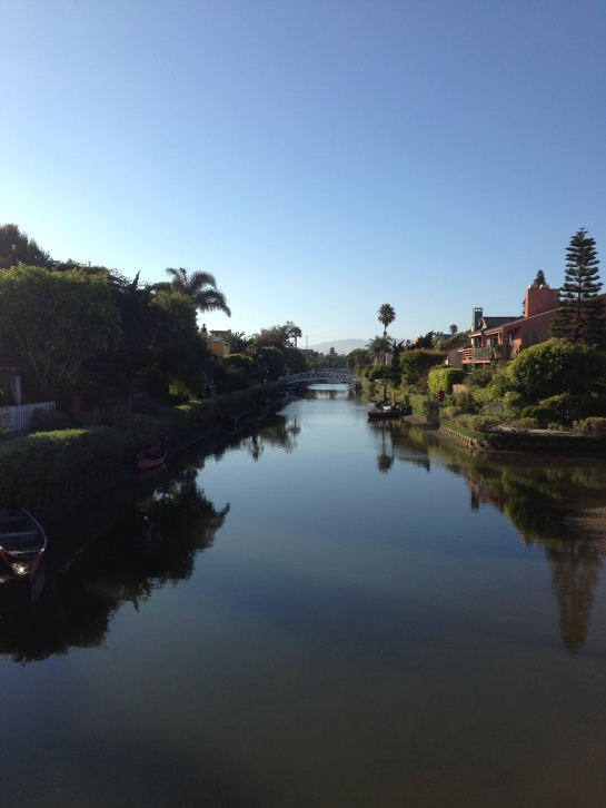 Beautiful Saturday biking around the Venice canals