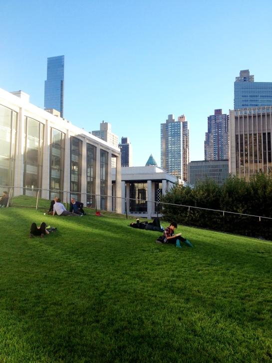 Lincoln Center's Illumination Lawn