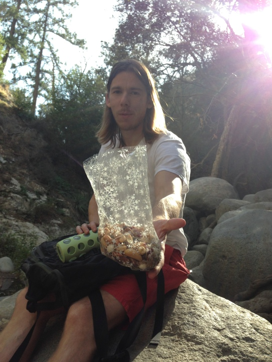 Trail mix on the trails