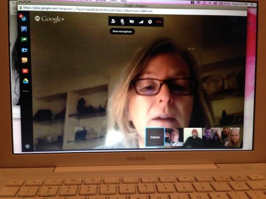 Google family hangout