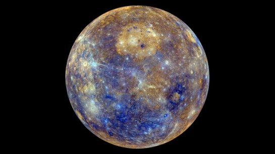 Mercury-2_mdis_global_enhancedcolor_caloris_orth_hd