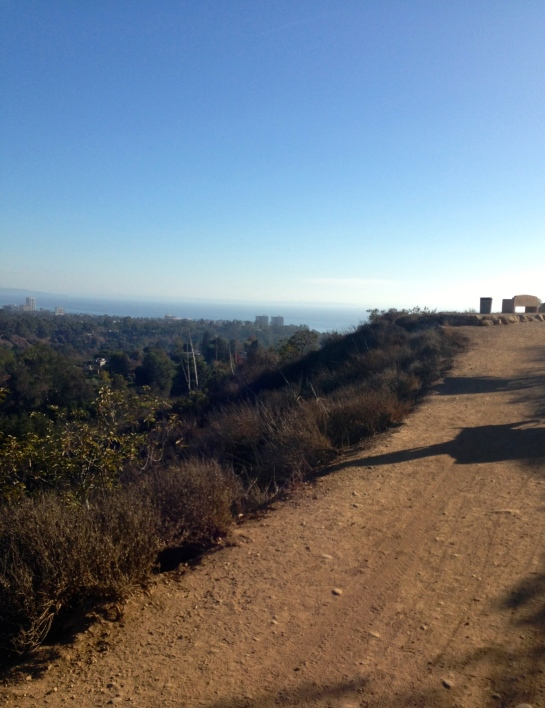 Four mile hike from Temescal Canyon to Will Rogers State park.