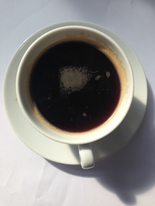 Had wonderful conversation about our generation over this Americano.
