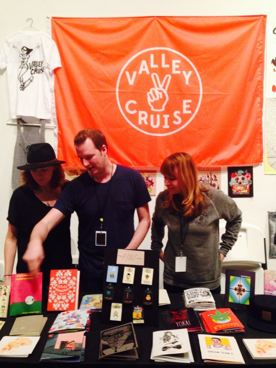 So impressed by the turnout for Valley Cruise Press at the LA Art Book Fair.