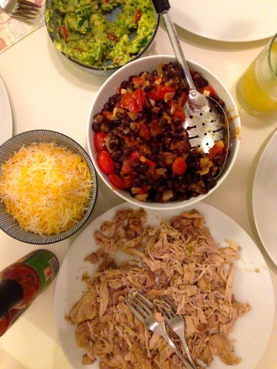 Had an awesome impromptu taco night!