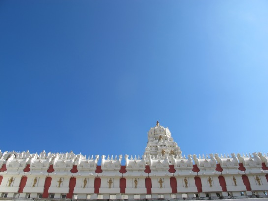 Checked out Malibu Hindu Temple