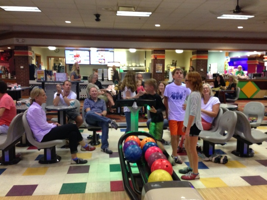 Bowling with the whole family
