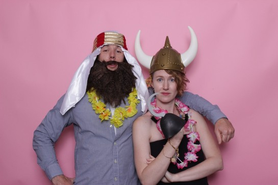 Our friend send us a couple photo booth photos from her wedding and this one is my favorite!