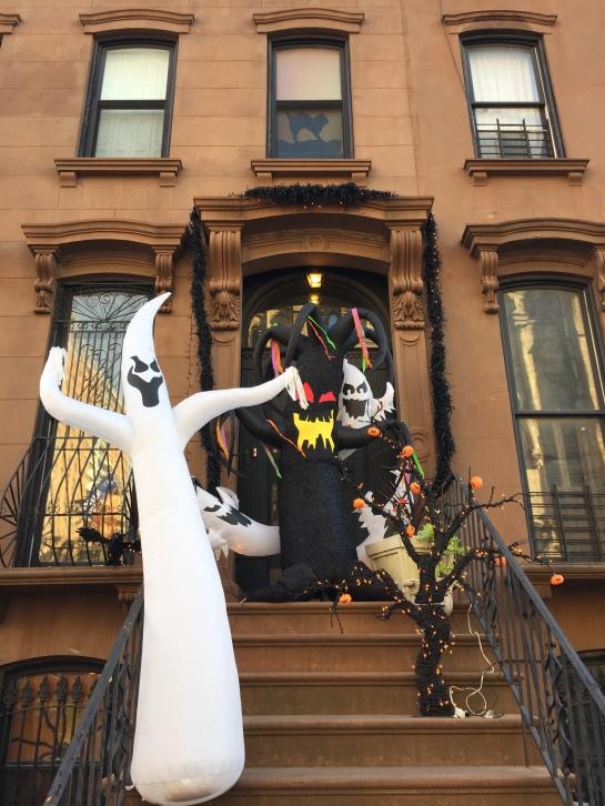 Ghost world in Clinton Hill, Brooklyn
