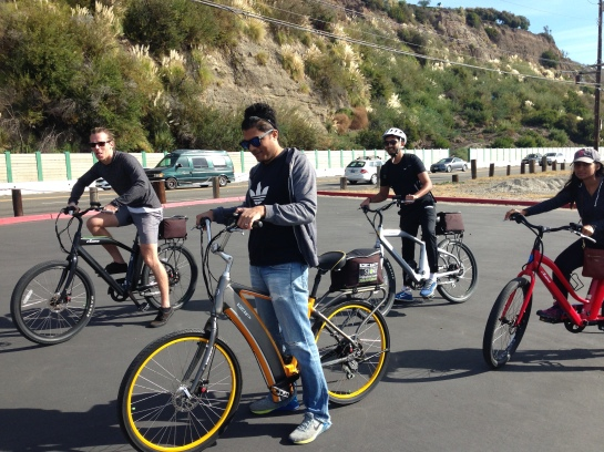 Electric bicycle crew
